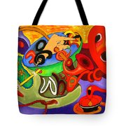 Time Constraints Tote Bag