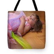 Tired Angel Tote Bag