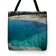 Turquoise Hot Springs Yellowstone Tote Bag