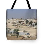 Unrecognized, Beduin Shanty Township  Tote Bag