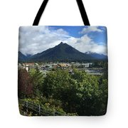 View From Top Of Castle Hill Sitka Alaska 2015 Tote Bag