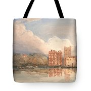 View Of Lambeth Palace On Thames Tote Bag