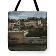 View Of The Seine Tote Bag