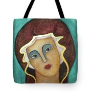 Virgin Mary Tote Bag