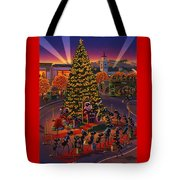 Visiting Santa Anta  Tote Bag