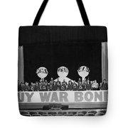 War Bond Rally Buy Bonds February 1944 Black Tote Bag