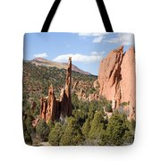 West Garden Of The Gods Tote Bag