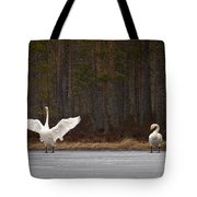 Whooper Swans 2 Tote Bag