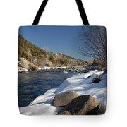 Winter On The Arkansas Tote Bag