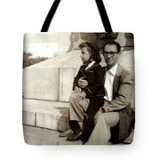 With Dad On Mount Royal Tote Bag