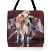 Wolf Composition Tote Bag