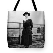 Woman Female In Naval Military Uniform 1918 Tote Bag