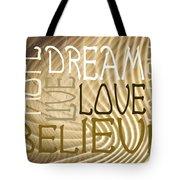 Words Of Love 6 Tote Bag