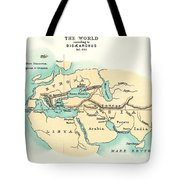 World Map, C300 B.c Tote Bag