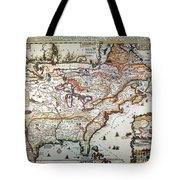 New France, 1719 Tote Bag