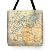 Austrian Empire Map, 1795 Tote Bag
