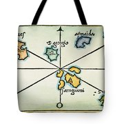 Azores, 1528 Tote Bag