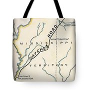 Natchez Trace, 1816 Tote Bag