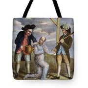 Tarring & Feathering, 1774 Tote Bag