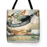 Spanish-american War, 1898 Tote Bag