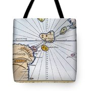 Traces Of Atlantis Tote Bag