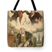 Cartoon: Panic Of 1893 Tote Bag