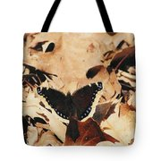 #002 Nymphalis Antiopa, Mourning Cloak Camberwell Beauty Large Butterfly Anglewing Tote Bag