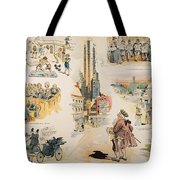 Overproduction Cartoon Tote Bag