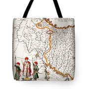 Mesopotamia, 1662 Tote Bag