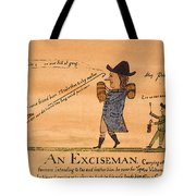 Cartoon: Whiskey Tax, 1794 Tote Bag