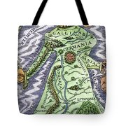 Europe As A Queen, 1588 Tote Bag