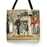Paris Occupation, 1814 Tote Bag