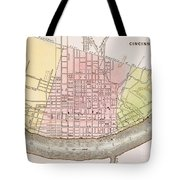 Cincinnati, Ohio, 1837 Tote Bag
