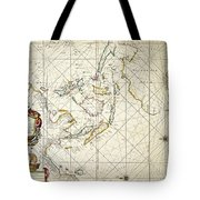 Map: East Indies, 1670 Tote Bag