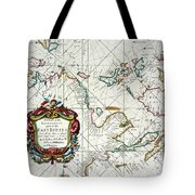 East Indies Map, 1670 Tote Bag