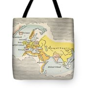 World Map, C1300 Tote Bag