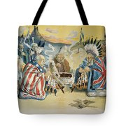 G. Cleveland Cartoon, 1896 Tote Bag