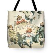 U.s. Cartoon: Businessman Tote Bag