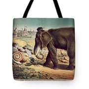 Office Seekers 1885 Tote Bag