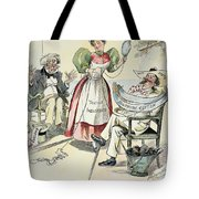 New South Cartoon, 1895 Tote Bag