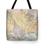 Map: U.s. Expansion, 1905 Tote Bag