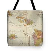 Map: Hawaii, 1905 Tote Bag