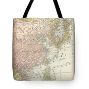 Map: East Asia, 1907 Tote Bag