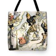 Europe: 1848 Uprisings Tote Bag