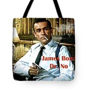 007, James Bond, Sean Connery, Dr No Tote Bag