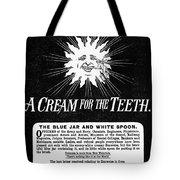 Fonweiss Toothpaste, 1887 Tote Bag