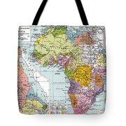 Partitioned Africa, 1914 Tote Bag