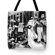 Press Cartoon, 1912 Tote Bag