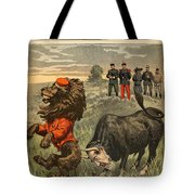 Boer War Cartoon, 1899 Tote Bag