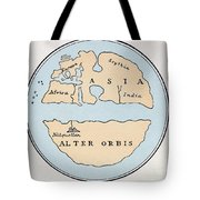 World Map, 1st Century Tote Bag